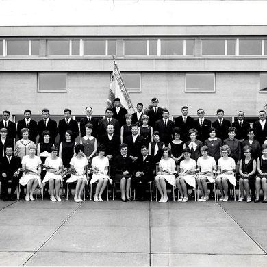 Fahnenweihe 1969