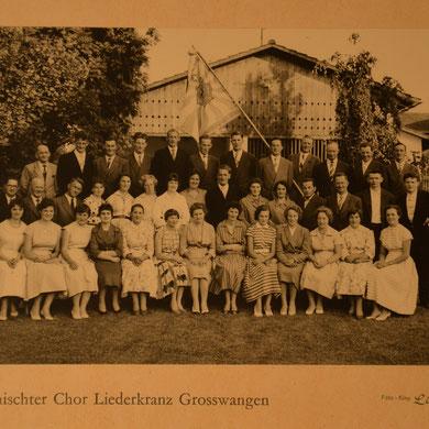 Kreissängertag Triengen 1956