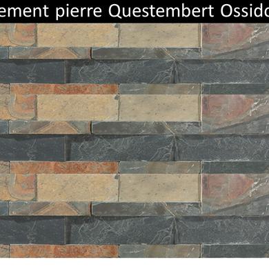 Parement pierre naturelle Questembert ossido pas cher