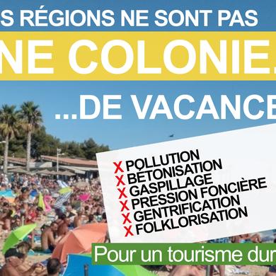 Nos régions ne sont pas une colonie de vacances