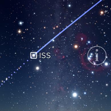 Screenshot Sky Guide APP