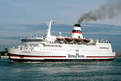 Quiberon, a former Brittany Ferries' flagship.