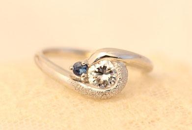 Pt900K18,Diamond,Sapphire