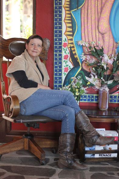 Pilar, la creadora de Villa Cassis