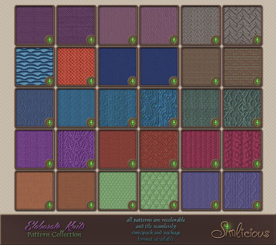 Elaborate Knits Pattern Collection
