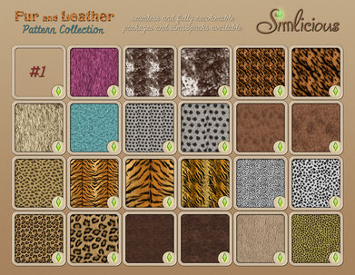 Fur and Leather Pattern Collection