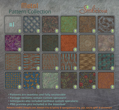 Metal Pattern Collection