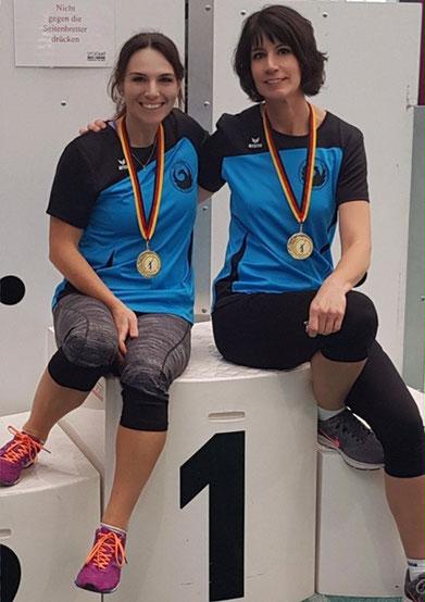 Noch ein starkes Duo! Anne Reuschenbach und Kristina Telge überzeugten mit hervorragenden Steinstoßleistungen und sind bei den kommenden RKS-Bundesligadurchgängen von Phoenix eine verlässliche Bank!