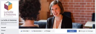 Céline Fournier, muséographe, dirige La Boite à Histoires.  Elle est ici en conférence et en réunion