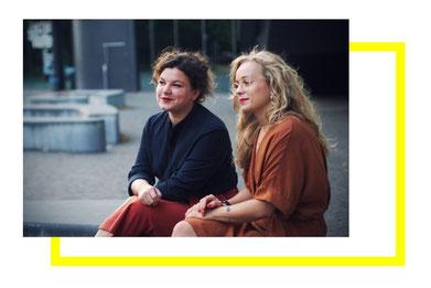 Sandra Hofmann und Katharina Gleß (v.l., Bildrechte K. Gleß)