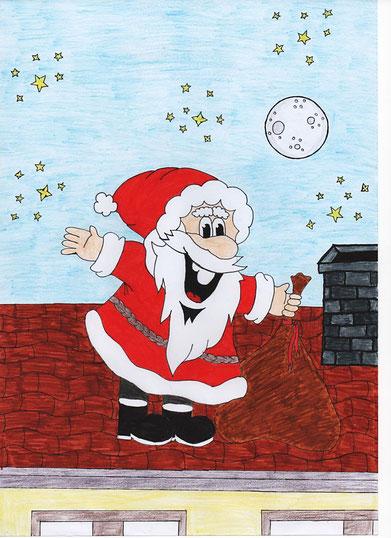 Weihnachtsmannbild von Lara (WP9)