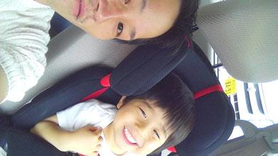 社長と子供の写真