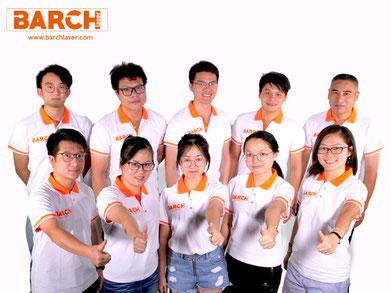barch laser sales team