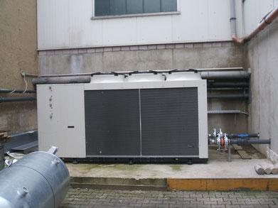 Neuer Luftgekühlter Kaltwassersatz mit Freier Kühlung und Wärmerückgewinnung