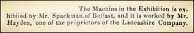 Dublin Evening - 9 August 1853