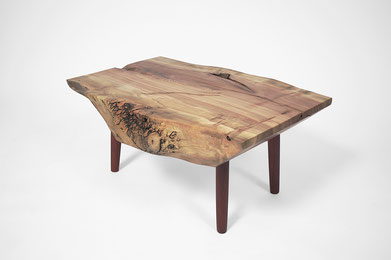 T1365 · Norway Maple, Padouk#arttable#table#coffeeetable#homedecoration#artcollector#sculpturel#coffeetable#woodworking#interiordesign#woodsculpture#art#woodart#wooddesign#decorativewood#originalartwork#modernwoodsculpture#joergpietschmann#oldwood
