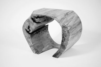 C1155 · Poplar#bench#stool#console#sculpture##woodworking#interiordesign#woodsculptures#art#woodart#wooddesign#decorativewood#originalartwork#modernwoodsculpture#joergpietschmann#oldwood