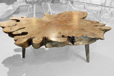 T0168 · American Maple Burl#arttable#table#coffeeetable#homedecoration#artcollector#sculpturel#coffeetable#woodworking#interiordesign#woodsculpture#art#woodart#wooddesign#decorativewood#originalartwork#modernwoodsculpture#joergpietschmann#oldwood