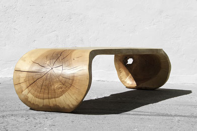 C1208 · Ash#bench#stool#console#sculpture##woodworking#interiordesign#woodsculptures#art#woodart#wooddesign#decorativewood#originalartwork#modernwoodsculpture#joergpietschmann#oldwood