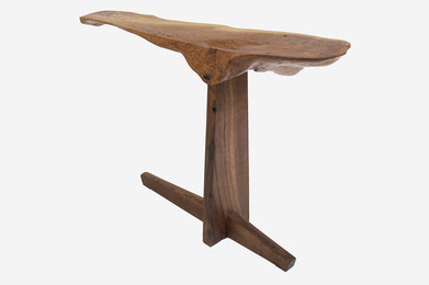 C1094 · Oak, European Walnut#bench#stool#console#sculpture##woodworking#interiordesign#woodsculptures#art#woodart#wooddesign#decorativewood#originalartwork#modernwoodsculpture#joergpietschmann#oldwood