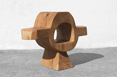 Console · C2270 · Ash#desk#bench#stool#console#sculpture#woodworking#interiordesign#woodsculptures#art#woodart#wooddesign#decorativewood#originalartwork#modernwoodsculpture#joergpietschmann#oldwood