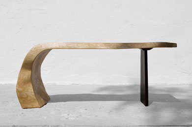 C1248 · Ash#bench#stool#console#sculpture##woodworking#interiordesign#woodsculptures#art#woodart#wooddesign#decorativewood#originalartwork#modernwoodsculpture#joergpietschmann#oldwood