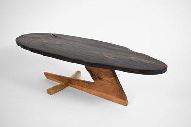 T1385 · Bog Oak, European, Walnut#arttabletable#coffeeetable#sculpture#bowl#coffeetable#woodworking#interiordesign#woodsculptures#art#woodart#wooddesign#decorativewood#originalartwork#modernwoodsculpture#joergpietschmann#oldwood