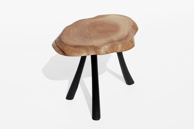 T1487 · Olive, Bog Oak#arttable#table#coffeeetable#homedecoration#artcollector#sculpturel#coffeetable#woodworking#interiordesign#woodsculpture#art#woodart#wooddesign#decorativewood#originalartwork#modernwoodsculpture#joergpietschmann#oldwood