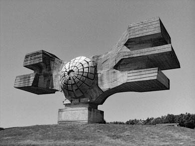 Denkmal für die Revolution inPodgarićKroatien