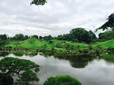 [스이젠지공원] 스이젠지 공원에서는 신사에서의 행동과 예절에 대해 배웠습니다.