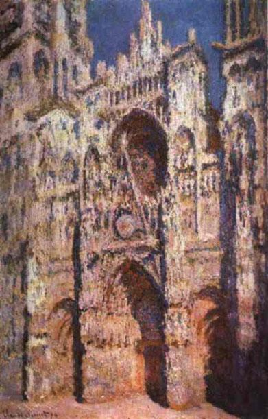 """Клод Моне. """"Руанский собор в солнце"""" (1894)"""