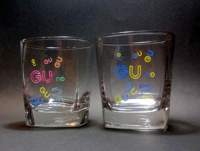 7-Colors鶴岡ガラスアート工房 GU三川店オープニング企画 グラスの塗り絵