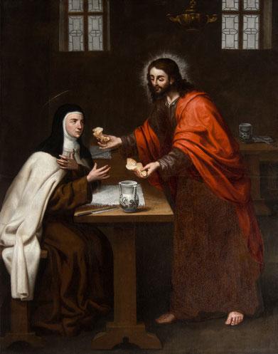 Cristo Partiendo el Pan - Anónimo Toledano s.XVII