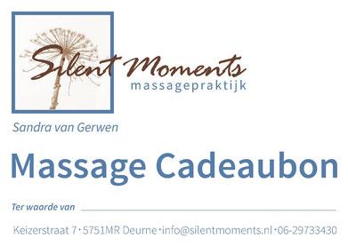 Cadeaubon massage Deurne