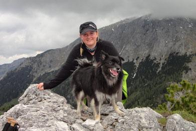 Juno in den Bergen
