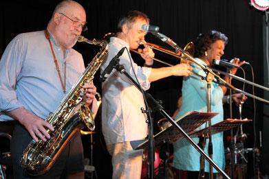 Heinz v. Hermann am 15.05.2015 im JazzClub Drosendorf