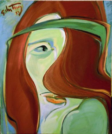 """Eifersucht"", 2011, Öl/Leinwand, 60 x 50 cm"