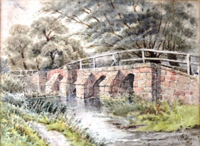 Packhorse Bridge, 1942