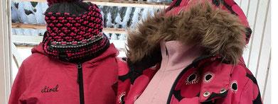 Einblick Wintersortiment Kinder