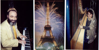 Shimon & Nehama REUBEN Millenium 2000 PARIS Tour Eiffel