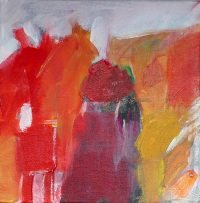 o. T. , 2015, Acryl auf Leinwand, 25x25 cm
