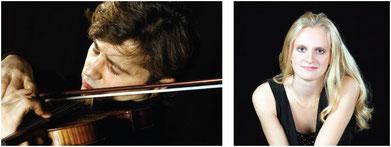 Duo Aglaia Graf (Klavier),Manrico Padovani (Violine)