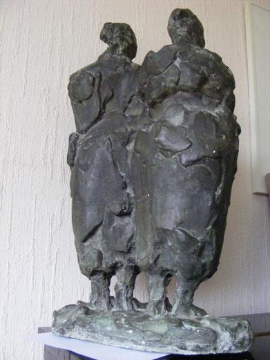 'RODDELEN' BRONS (33 cm hoog)
