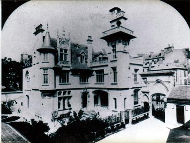 le chateau ou nichait Plan de Travail