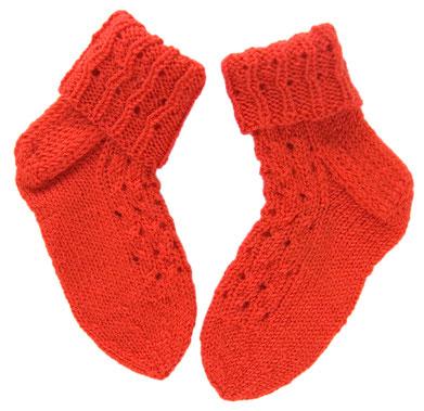 Handmade Baby Socken