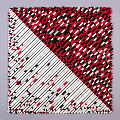 Quadro scultura - composizione - Serie Mosaico