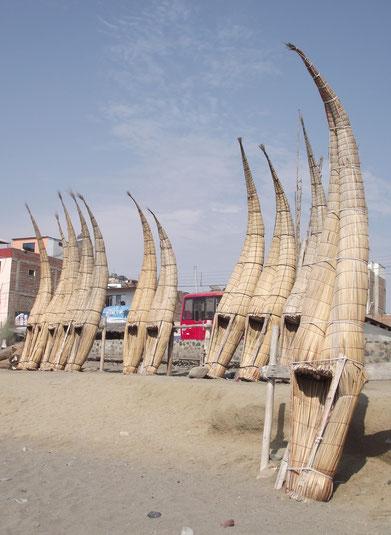 reed boats Huanchaco