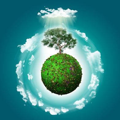 erde, grün, erdkugel, baum, rund, universum, weltall, umweltschutz, naturschutz