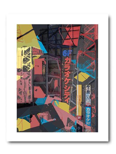 Photo Art Print, Photo Art, Fine Art Print, Photography, Japan