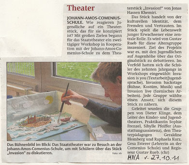 Quelle: HNA 27.10.2011 (www.hna.de)
